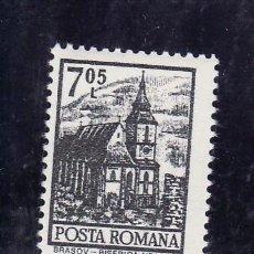 Sellos: RUMANIA 2784 SIN CHARNELA, ARQUITECTURA, IGLESIA,. Lote 13926585