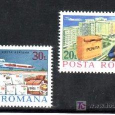 Sellos: RUMANIA A 251/2 SIN CHARNELA, AVION, CORREOS, CARTERO, . Lote 17309958