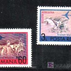 Sellos: RUMANIA A 234/5 SIN CHARNELA, AVION, PIONEROS DE LA AVIACION, . Lote 13912755