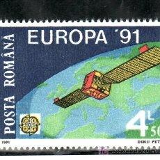 Sellos: RUMANIA 3932 SIN CHARNELA, TEMA EUROPA, EUROPA Y EL ESPACIO, . Lote 18250845