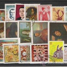 Stamps - RUMANIA LOTE DE SELLOS - 14478078