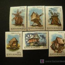 Sellos: RUMANIA 1994 IVERT 4140/5 *** MOLINOS. Lote 14650567