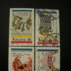 Sellos: RUMANIA 1999 IVERT 4532/5 BISUTERIA. Lote 14729035