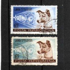 Sellos: RUMANIA / ROMANIA / ROEMENIE AÑO 1957 YVERT NR.1550/51 USADO. Lote 18040891