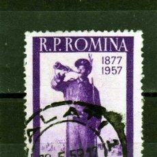 Sellos: ++ RUMANIA / ROMANIA / ROEMENIE AÑO 1957 YVERT NR.1533 USADO MILITAR. Lote 18041021