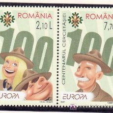 Sellos: RUMANIA AÑO 2007 SIN CHARNELA, TEMA EUROPA, SCOUTS. Lote 167804128