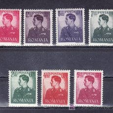 Sellos: RUMANIA 686/92 SIN CHARNELA, REY MIGUEL I. Lote 57693489