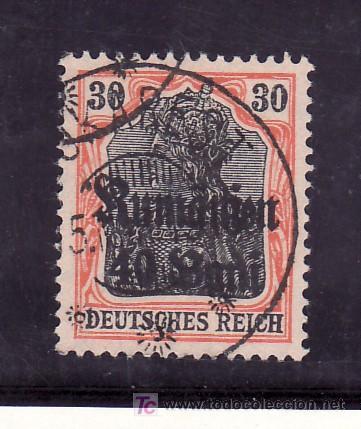 RUMANIA OCUPACION ALEMANA 7 USADA, SELLOS DE ALEMANIA, SOBRECARGADO (Sellos - Extranjero - Europa - Rumanía)