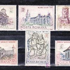 Sellos: RUMANIA 2416/21 SIN CHARNELA, MONUMENTOS HISTORICOS, . Lote 19181535
