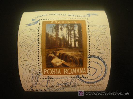 RUMANIA 1975 HB IVERT 119 *** AÑO EUROPEO PARA LA PROTECCIÓN DE MONUMENTOS (Sellos - Extranjero - Europa - Rumanía)