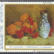 Sellos: RUMANIA - 1976 - (YV. - 2992 ) ( USADO ) PINTURAS DE STEFAN LUCHIAN. Lote 22782516