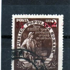 Sellos: ++ RUMANIA / ROMANIA / ROUMANIE AÑO 1952 YVERT NR.1193A USADA OVERPRINT. Lote 22878099