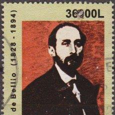 Sellos: RUMANIA 2003 SCOTT 4568 SELLO PERSONAJES GEORGES DE BELLIO (1828-1894) COLECCIONISTA DE ARTE USADO . Lote 24839827