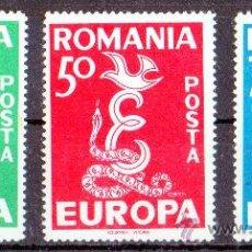 Sellos: RUMANIA AÑO 1958 EUROPA - SERIE COMPLETA NUEVA***. Lote 27799754