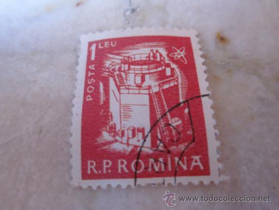 SELLO 1 LEU RUMANIA (Sellos - Extranjero - Europa - Rumanía)