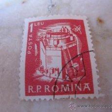 Sellos: SELLO 1 LEU RUMANIA. Lote 30863922