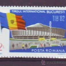 Sellos: .RUMANIA / ROMANIA / ROUMANIE.***AÑO 1982.YVERT NR.3399.FERIA INTERNACIONAL.TIB.BANDERA.. Lote 30885140