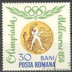Sellos: RUMANIA 1964 SCOTT 1692 SELLO º MEDALLAS OLIMPICAS MELBOURNE BOXEO 20B MI.2069 YV.2346 TIMBRE ROUMAN. Lote 31280814