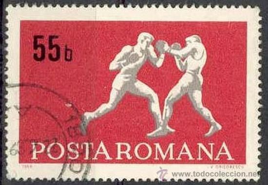 RUMANIA 1969 SCOTT 2073 SELLOS º SPORTS BOXEO 55BANI ROUMANIE ROMINA ROMANIA (Sellos - Extranjero - Europa - Rumanía)