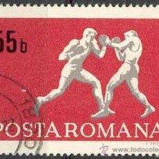 Sellos: RUMANIA 1969 SCOTT 2073 SELLOS º SPORTS BOXEO 55BANI ROUMANIE ROMINA ROMANIA. Lote 31281112