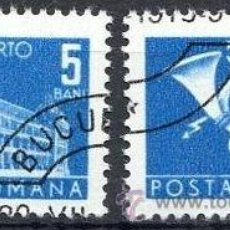 Sellos: RUMANIA 1970 SCOTT J128 SELLOS º GENERAL POST OFFICE & POST HORN PORTO 5BANI ROUMANIE ROMINA ROMANIA. Lote 31282132