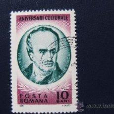 Sellos: 1966 RUMANIA, GEORGE SINCAI, YVERT 2220. Lote 32134293
