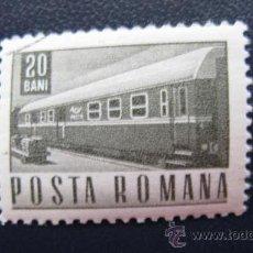 Sellos: 1967 RUMANIA, BAGON DE CORREO, YVERT 2347. Lote 32231456