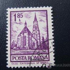 Sellos: 1972 RUMANIA, CATEDRAL DE CLUJ, YVERT 2772. Lote 32454258