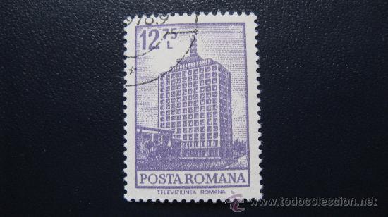 1972 RUMANIA, TELEVISION RUMANA, YVERT 2791 (Sellos - Extranjero - Europa - Rumanía)