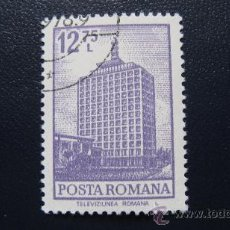 Stamps - 1972 rumania, television rumana, yvert 2791 - 32938417