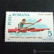 Sellos: RUMANIA DEPORTES AÑO 1965 YV 2174 **MNH . Lote 34559489