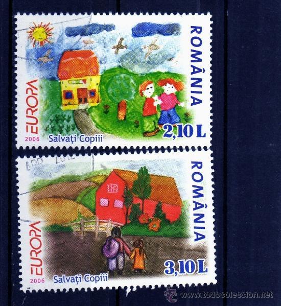 ROMANIA / RUMANIA / ROUMANIE AÑO 2006 YVERT NR. USADA EUROPA CEPT (Sellos - Extranjero - Europa - Rumanía)