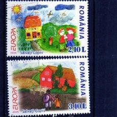 Sellos: ROMANIA / RUMANIA / ROUMANIE AÑO 2006 YVERT NR. USADA EUROPA CEPT. Lote 44805572