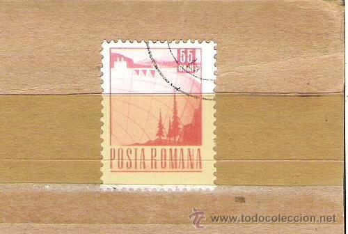 SELLOS - LOTE 1 SELLO USADO - RUMANIA ( EMBALSES Y PRESAS ) (Sellos - Extranjero - Europa - Rumanía)