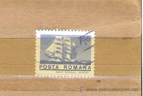 SELLOS - LOTE 1 SELLO USADO - RUMANIA ( BARCOS FRAGATAS ) (Sellos - Extranjero - Europa - Rumanía)