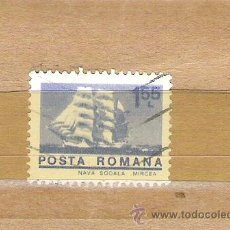 Sellos: SELLOS - LOTE 1 SELLO USADO - RUMANIA ( BARCOS FRAGATAS ). Lote 35354181