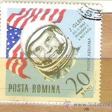 Sellos: SELLOS - LOTE 1 SELLO USADO - RUMANIA ( ASTRONAUTA J. GLENN ). Lote 35354215