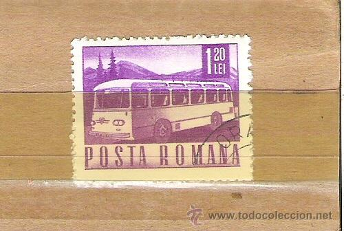 SELLOS - LOTE 1 SELLO USADO - RUMANIA ( TRANSPORTES - AUTOBUS ) (Sellos - Extranjero - Europa - Rumanía)