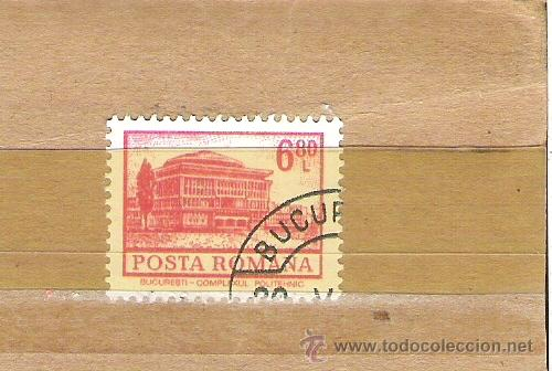 SELLOS - LOTE 1 SELLO USADO - RUMANIA ( POLITECNICA DE BUCAREST ) (Sellos - Extranjero - Europa - Rumanía)