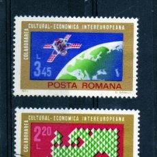 Sellos: ++ RUMANIA / ROMANIA / ROUMANIE AÑO 1974 YVERT NR. 2836/37 USADA EUROPA. Lote 35948639
