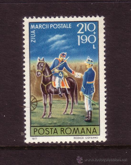 RUMANIA 3071*** - AÑO 1977 - DIA DEL SELLO (Sellos - Extranjero - Europa - Rumanía)