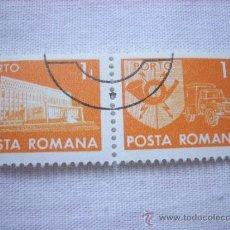 Sellos: LOTE 2 SELLOS RUMANIA POSTA ROMANA 1L . Lote 37059787
