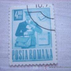 Sellos: SELLO RUMANIA POSTA ROMANA 4,8 L . Lote 37059854