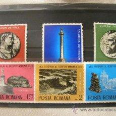 Sellos: RUMANIA 1975 IVERT 2901/6 *** AÑO EUROPEO PARA LA PROTECCIÓN DE MONUMENTOS . Lote 37270637