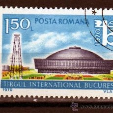 Sellos: ++ RUMANIA / ROMANIA / ROUMANIE AÑO 1970 YVERT NR. 2551 USADA FERIA INTERNACIONAL DE BUCAREST. Lote 37292054