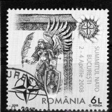 Sellos: ++ ROMANIA / RUMANIA / ROUMANIE AÑO 2008 USADA NATO. Lote 37292099