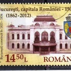 Sellos: ++ RUMANIA / ROMANIA / ROUMANIE AÑO 2012 USADA BUCURESTI. Lote 37301888