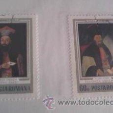 Sellos: LOTE DE 2 SELLOS DE RUMANIA. Lote 39864602