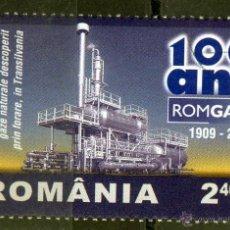 Sellos: ++ RUMANIA / ROMANIA / ROUMANIE AÑO 2009 USADO ROMGAZ. Lote 40543922
