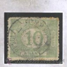 Sellos: RUMANIA 1908 - YVERT NRO. 29 TAXA - USADO. Lote 41193779